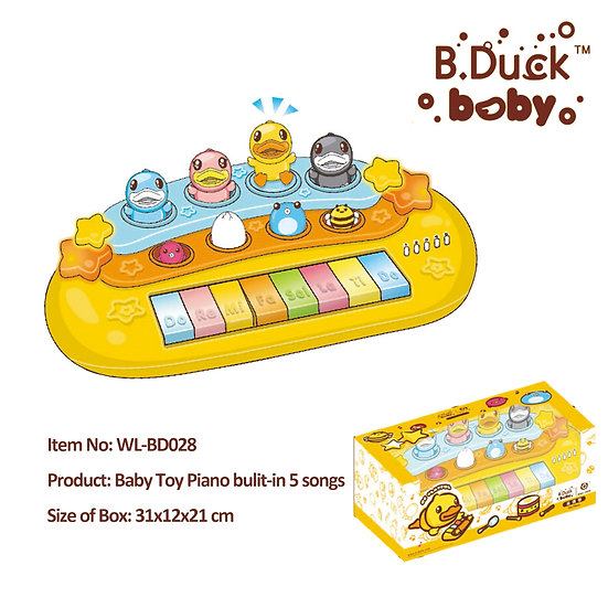B.Duck - Baby Toy Piano No.WL-BD028