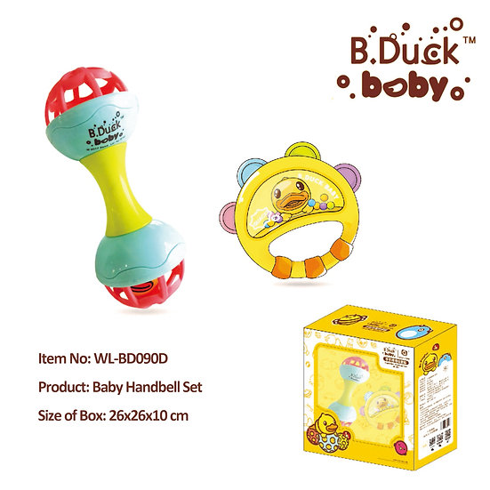 B.Duck - Baby Handbell Set No.WL-BD090D