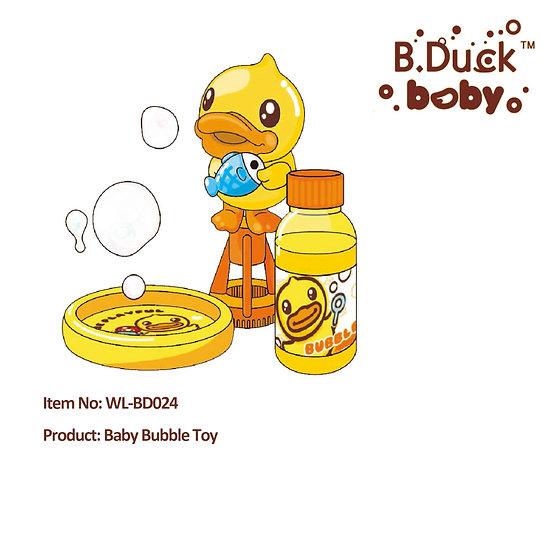 B.Duck - Baby Bubble Toy No.WL-BD024