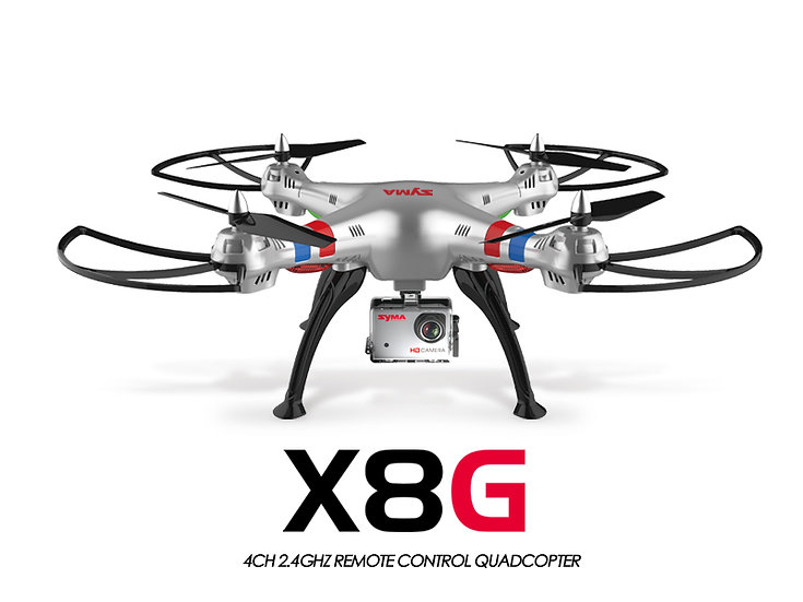 X8G 2.4G 4 channel Large Drone with HD camera