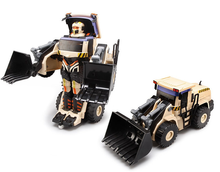 RC Transforming Commanders - Wheel Loader No.K675 (with voice control)