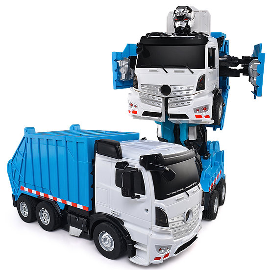 KONSEPT RC Transforming Commanders - Garbage Truck No.K676 (with voice control)