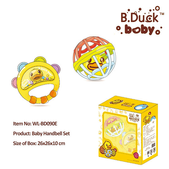 B.Duck - Baby Handbell Set No.WL-BD090E