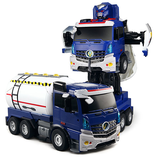 KONSEPT RC Transforming Commanders - Fuel Tanker No.K609 (with voice control)