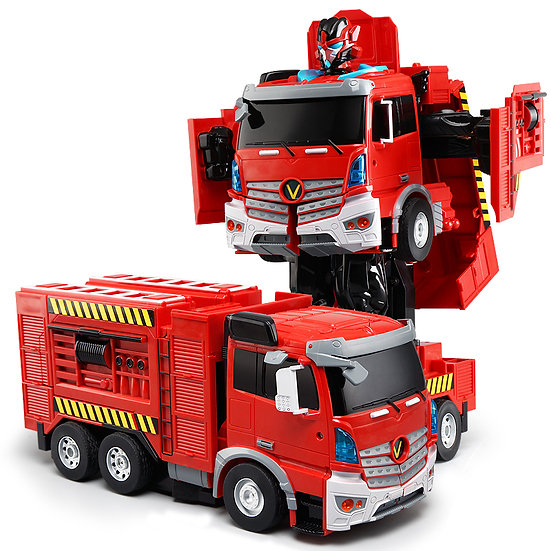 RC Transforming Commanders - Fire Truck No.K608 (with voice control)