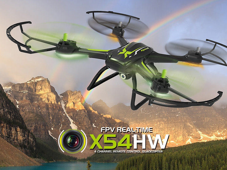X54HW 2.4G 4 channel rc Quad-copter with gyro