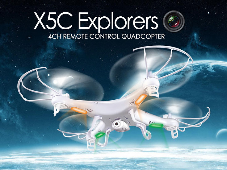 X5C 2.4G 4 channel rc Quad-copter with gyro