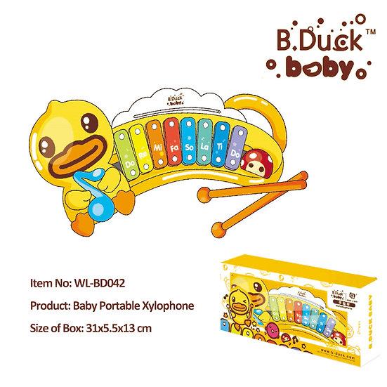 B.Duck - Baby Portable Xylophone No.WL-BD042