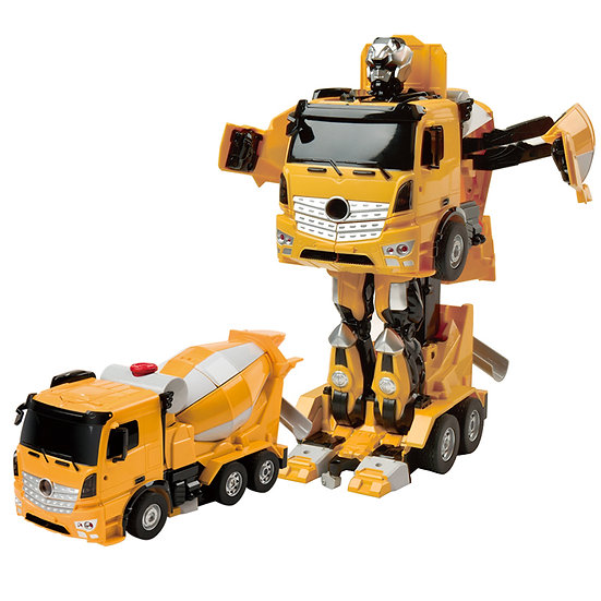 RC Transforming Commanders -Cement Mixer No.K679 (with voice control)