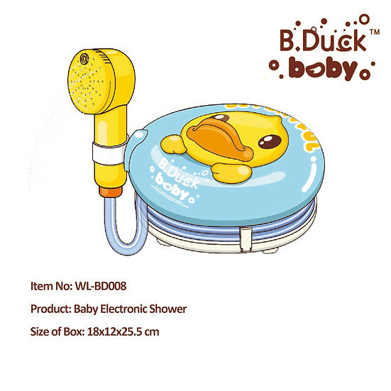 B.Duck - Baby Electronic Shower No.WL-BD008
