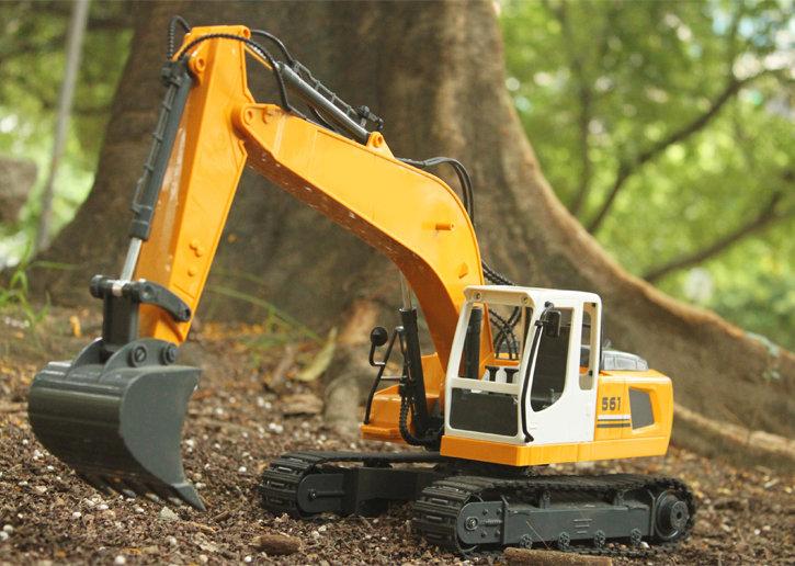 KONSEPT 1:16 3 in 1 DIY RC Excavator No.E561