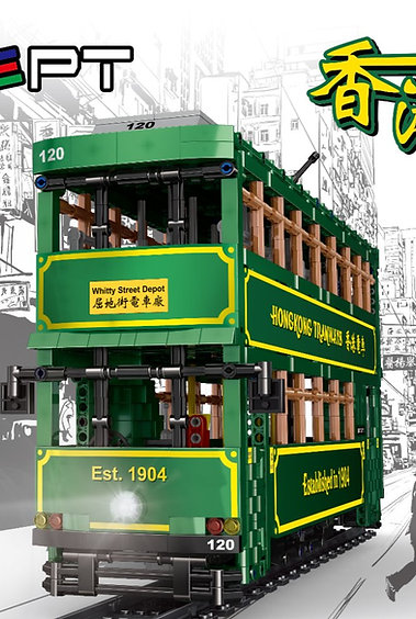 KONSEPT 1:18 RC Block HK Tram No.KB120