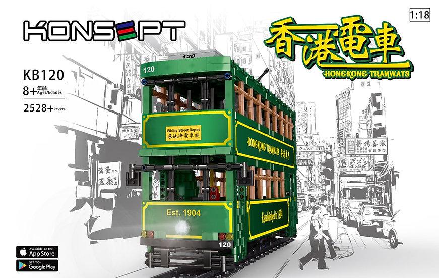 KONSEPT 1:18 RC Block HK Tram No.KB120