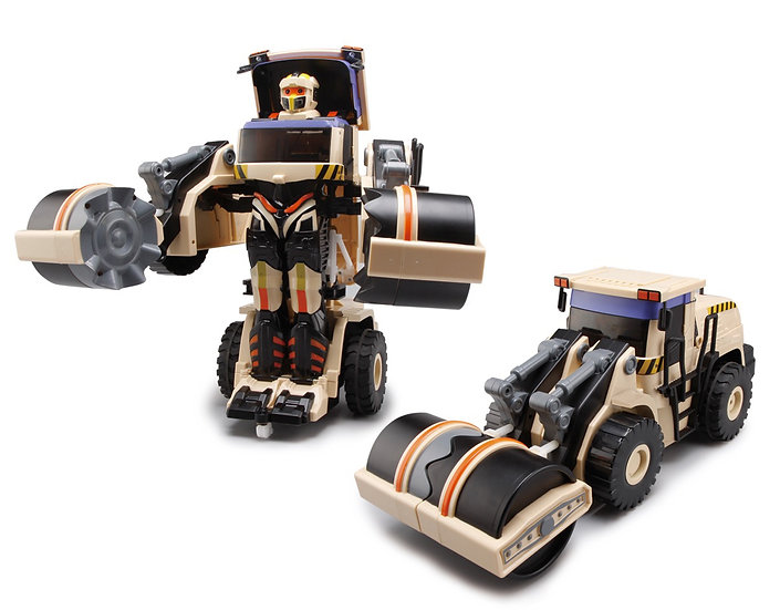 RC Transforming Commanders - Road Roller No.K674 (with voice control)