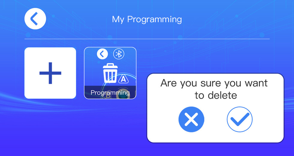 Program Mode 編程模式
