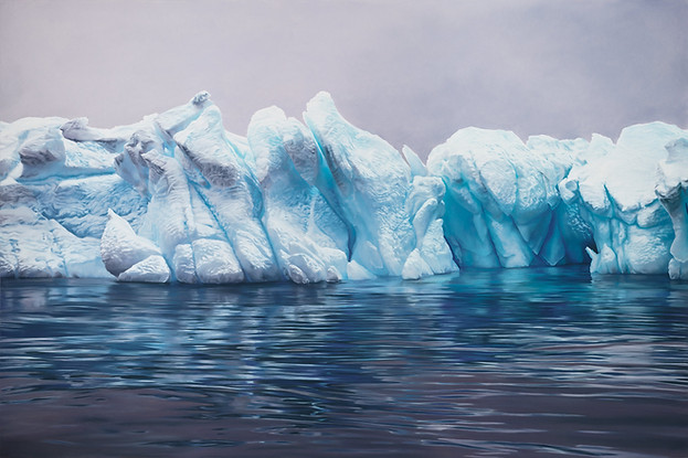 Whale_Bay, Antarctica No.2, 50x75, 2016