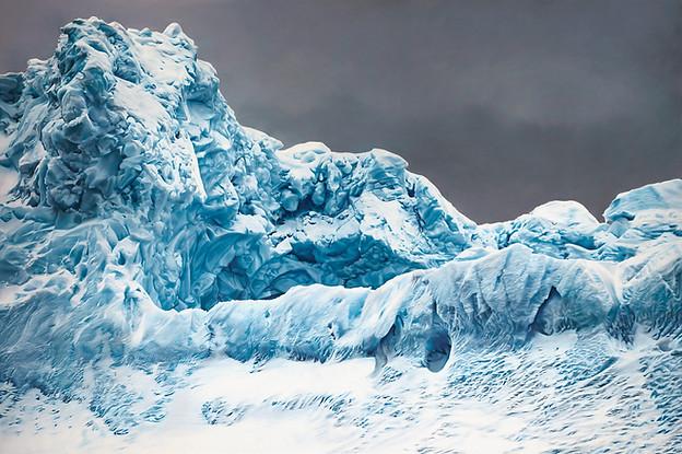 Whale Bay, Antarctica no1, 60x90, 2016