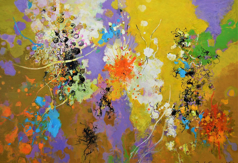 "Autumn Transformation I | 36""x52"" 
