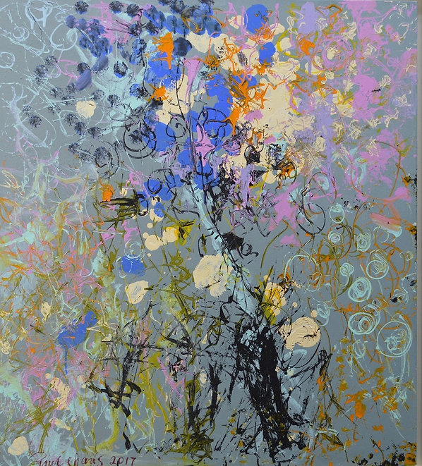Purple Mist | by artist Paul Chang | www.paulchang.net