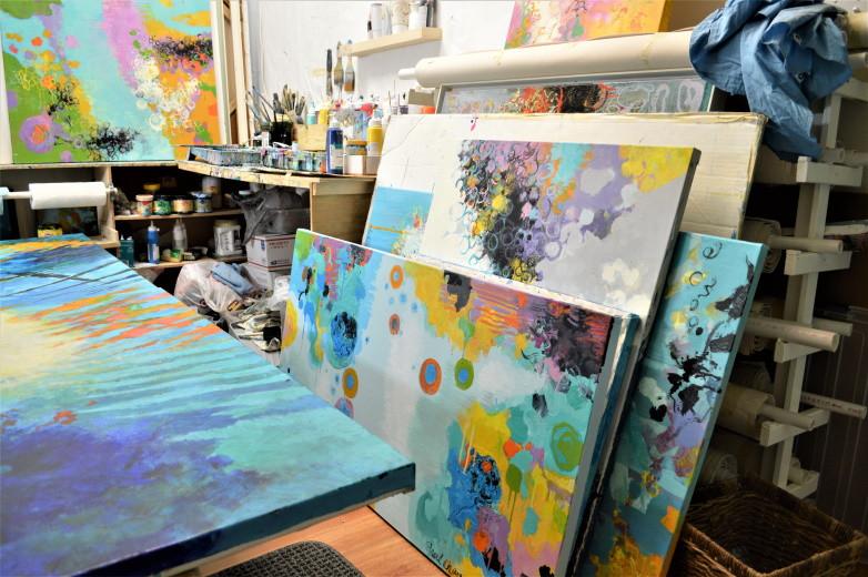 Inside my studio