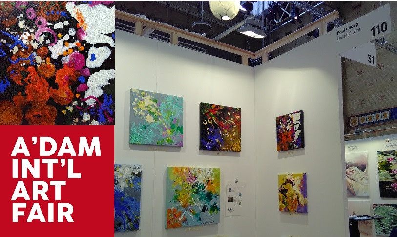 to all for making the Amsterdam International Art Fair a great success!