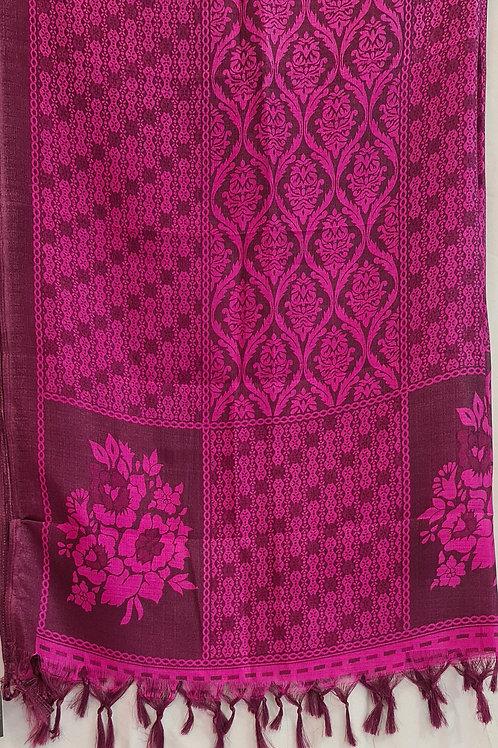 Semi Tussar Silk Du