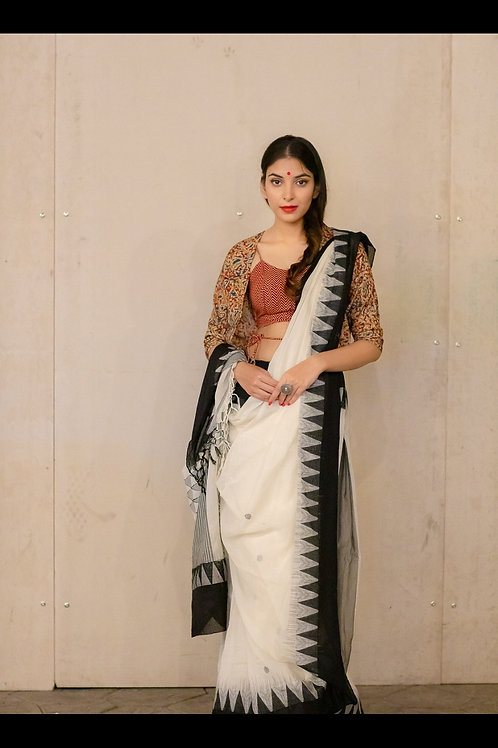 Handloom Khadi Cotton Saree