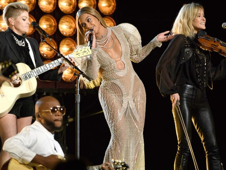 "BEYONCE AND THE DIXIE CHICKS VALUE ""DADDY LESSONS"""
