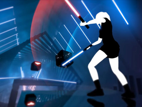 NU'S 2ND VRTICLE IS ALL ABOUT BEAT SABER