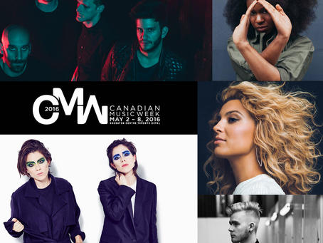 2016's HEADLINERS FOR CANADIAN MUSIC WEEK