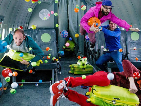 OK GO'S NEW ZERO GRAVITY VIDEO