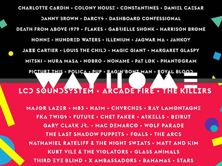 THIS YEAR'S WAYHOME LINEUP COMPARED TO LAST