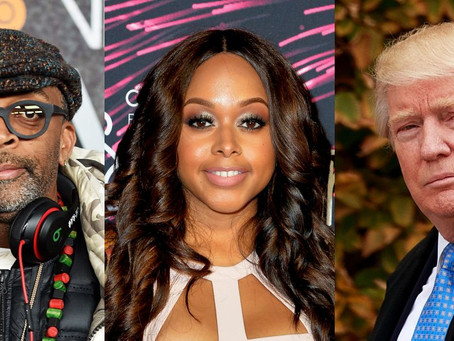 CHRISETTE MICHELE'S TRUMP PERFORMANCE RESULTS IN BATTLE WITH SPIKE LEE