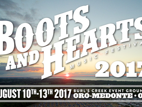 BOOTS AND HEARTS FESTIVAL 2017