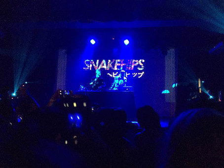 SNAKEHIPS PERFORM IN BEIJING TO END ASIA TOUR