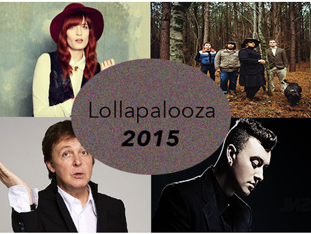 LOLLAPALOOZA 2015 LINEUP RELEASED