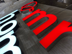 LED illuminated Channel Letters