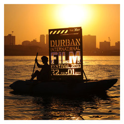 Durban Film Festival prop for promotional posters