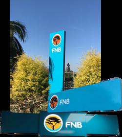 FNB Pylon & Wall Signs