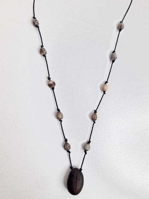 Cabécar seed necklace