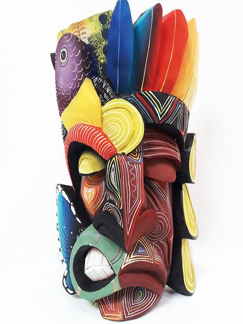 Máscara Diablo/indígena