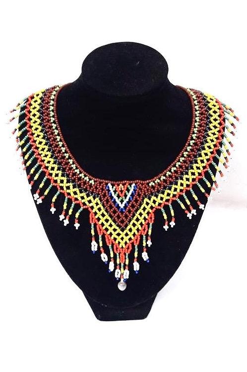 Collar abalorios Ngobe