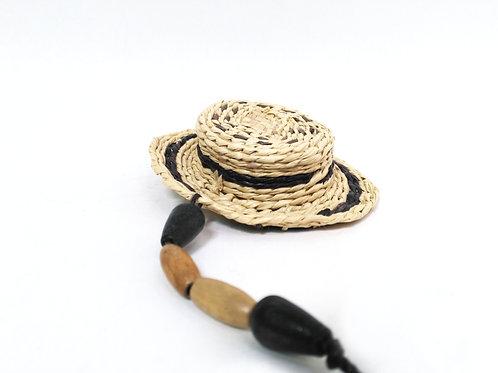 Llavero de sombrero