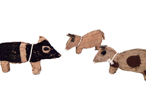Animalitos de mastate Cabécar