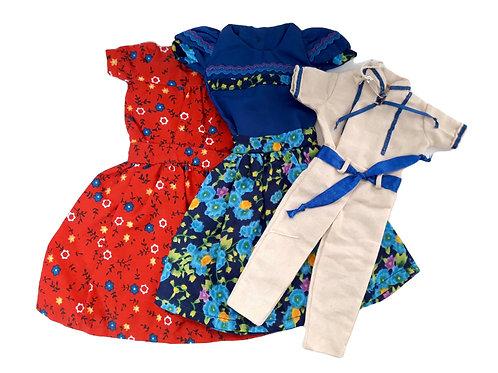 Vestido de muñeca Brorán