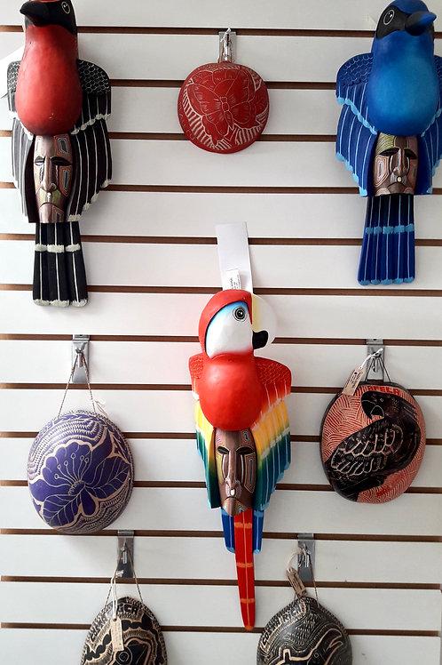 Máscara aves