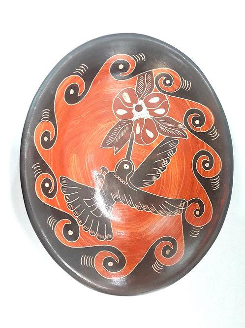 Chorotega ceramic plate
