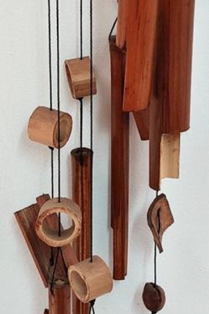 Móvil de bambú