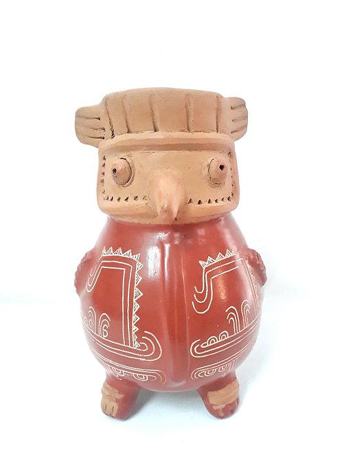 Búho de cerámica Chorotega