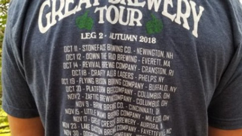 Autumn 2018 Tour Shirt